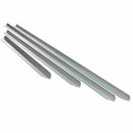 - Алюминиевые профили для виброреек