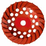 Чашка турбо D180/22,23/24 (30x8x5) для мозаично-шлифов-й машины
